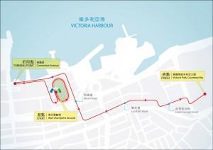 渣打馬拉松2015三公里輪椅賽 hong kong marathon wheelchair 3km