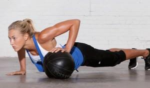 Medicine Ball Push-ups
