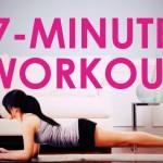 7分鐘 workout