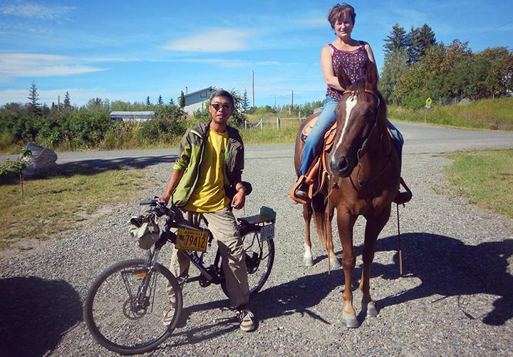 單車旅行加拿大美國阿拉斯加