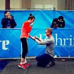 跑道上的求婚事件