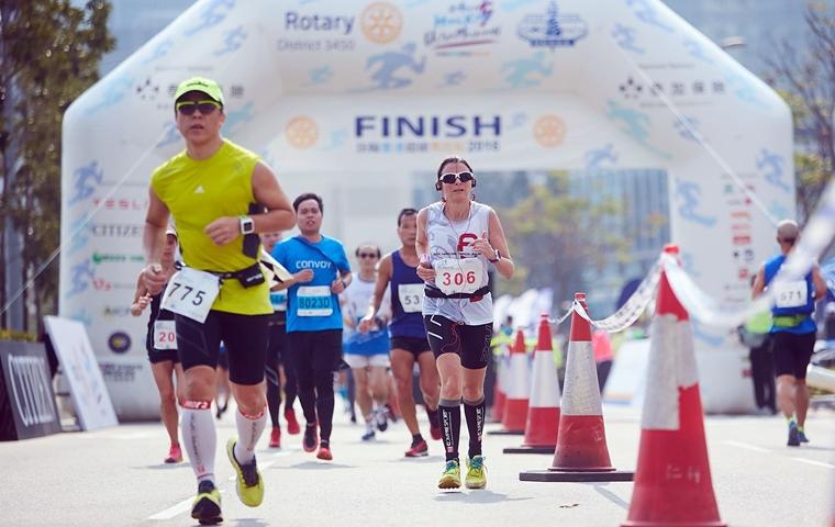 香港最大型倉鼠比賽:扶輪超級馬拉松。