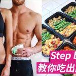 [健身入門 Gymbeginner] Step by Step,教你吃出腹肌來!